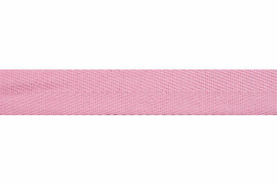 50x Herringbone Tape 50mx20mm Pink Sewing Craft Tool Hobby Art UK Bulk Filoro