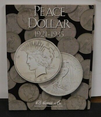 Harris and Co. New Folder #2709 Holds Peace Dollars 1921-1935 Free Shipping