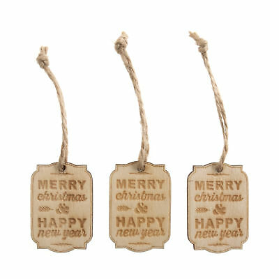5x Craft Embellishment Tags Small Merry Christmas PK of 6 Sewing Craft