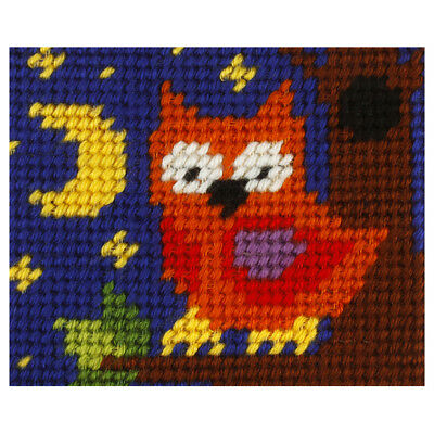 1x Embroidery Kit Owl Sewing Craft Tool Hobby Art UK Bulk Filoro