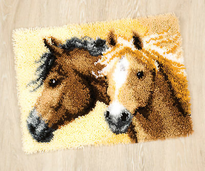 1x Embroidery Kit Brown Horse Sewing Craft Tool Hobby Art UK Bulk Filoro