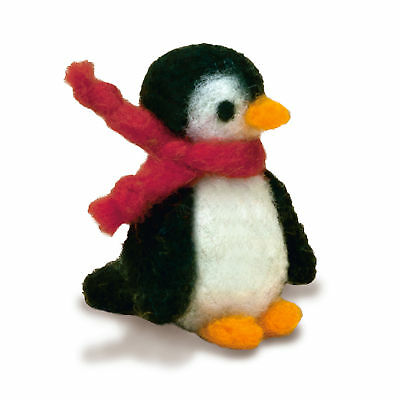 1x Needle Felting Kit Penguin Sewing Craft Tool Hobby Art UK Bulk Filoro