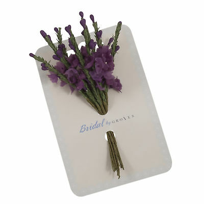 4x Spray Heather 1.2cm PK of 12 Violet Sewing Craft Tool Hobby Art UK