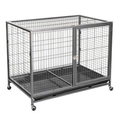 Tabby Indoor Dog Steel Cage Grooming and Care Large Size 109.5 X 70 X 87.5 Cm