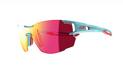 93e65f8e08 Julbo Aerolite Lightweight Ultra Sports Sunglasses Blue with Spectron 3CF  Lenses