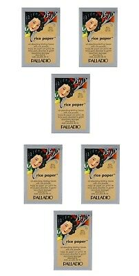 Palladio Rice Paper Tissues Natural (6 Pack)
