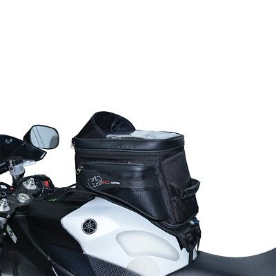 Oxford S20R 20 Liter Strap-On Adventure Tank Bag Motorcycle Luggage Black OL231