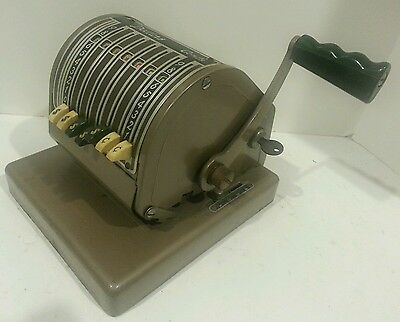 """Vintage Paymaster Checkwriter and Protector """"WITH RARE KEY"""" Working+ vinyl cover"""