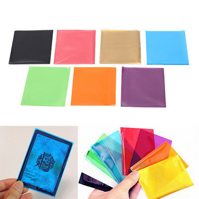 50pcs multicolor cards sleeves card protector board game cards magic sleeves  fR