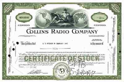 COLLINS Radio Company 1967/66 Cedar Rapids Iowa Rockwell Westinghouse Air Brake