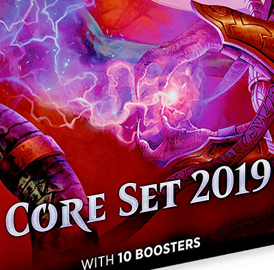 Mtg Magic Card Gathering Core Set 2019 Edition English Play 10 Booster Pack More