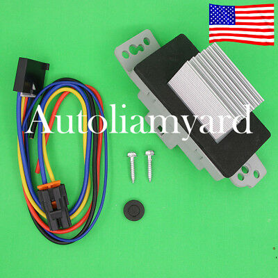 HEATER BLOWER MOTOR Resistor Control Module Fit For Cadillac