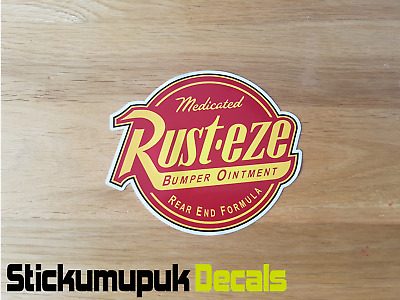 Rusteze Rusty Car Van Funny Sticker / Decal Volkswagen Bug Dub T5 Camper Golf