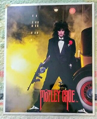 """TOMMY LEE Gangster 8"""" x 10"""" Photograph MOTLEY CRUE Theater of Pain FREEZZ FRAME"""