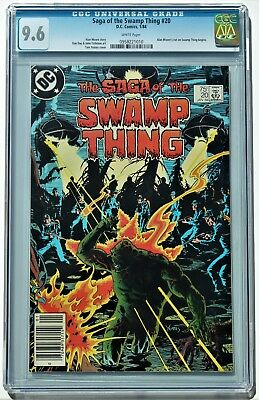 Saga of the Swamp Thing #20 1st Alan Moore DC 1984 CGC 9.6 (NM+)