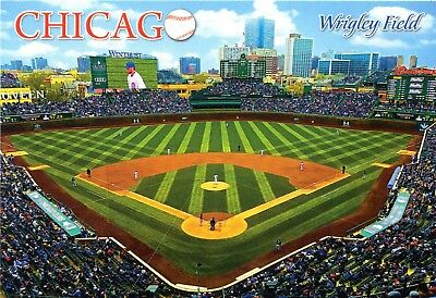 SPECIAL OFFER! (5) Chicago Cubs Wrigley Field Baseball Stadium Postcards