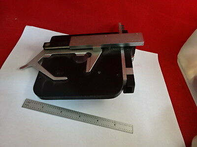 Leitz Germany Stage Table Micrometer Microscope Part Sm-Lux  As Pictured &86-70