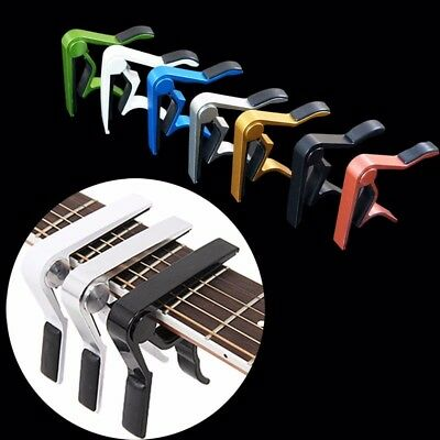 Advanced Guitar Capo Quick Change Tune Clamp Acoustic Electric Classic Guitar