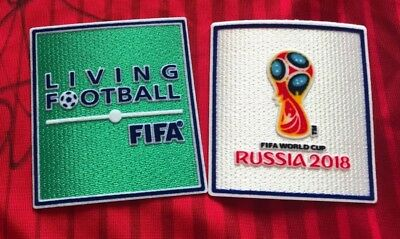 RARE France Champions World Cup Russia 2018 Iron On Embroidered Patch Badge