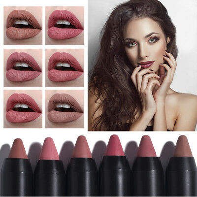 Women Waterproof Matte Shimmer Lipsticks Lasting Non-Stick Cup Makeup Supply