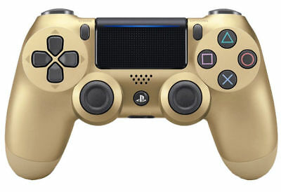 Sony PlayStation Dualshock Wireless Controller Gold (NEW, RETAIL, Ships USA)