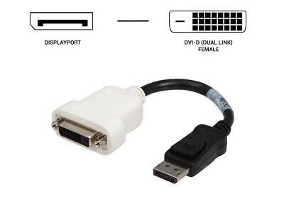 Dell 23NVR BIZLINK Displayport To DVI Adapter Cable Lot of 20