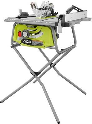 Porter cable carbide tipped table saw 15 amp 10 in adjustable power ryobi portable table saw 10 in 15 amp motor centered blade foldable stand keyboard keysfo Images