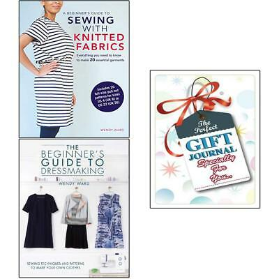 Wendy ward A beginner's guide to dressmaking 2Books collection with gift journal