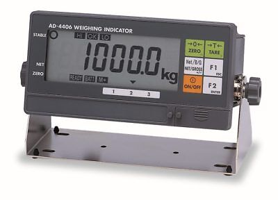 A&D Instruments Weighing Platform & AD-4406 Compact Weighing Indicator (New)