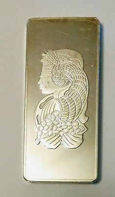 1/2 kg  Suisse Pamp Lady Fortuna Bar (500 grams of 999 fine silver)