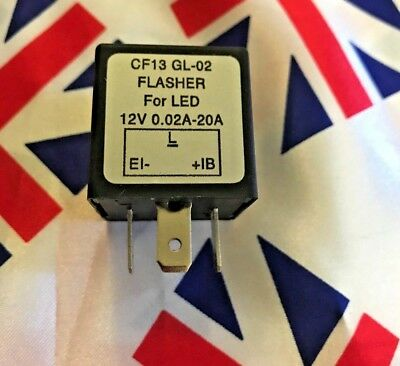 ⭐⭐ 12V Indicator Flasher Relay Unit For Classic Cars With Oe Clicking Sound ⭐⭐