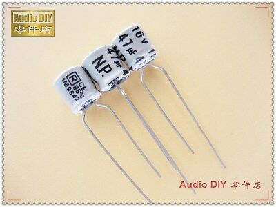 200pcs 47uF 16V Rubycon ZLG 6.3x7mm 16V47uF Low Impedance Long Life Capacitor
