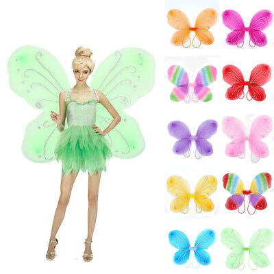 Beautiful Butterfly Wings Elf Fairy Wing Costume Party Dress Up Girl Decor DIY D