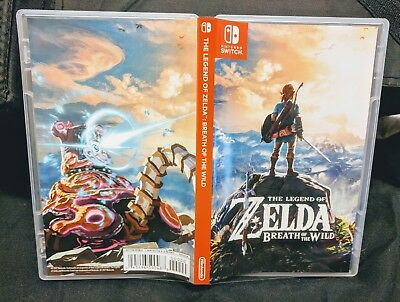 The Legend of Zelda Breath of the Wild Nintendo Switch Limited Edition Game Only
