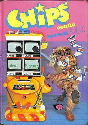 Chips Comic Annual 1984, , Good Condition Book, ISBN
