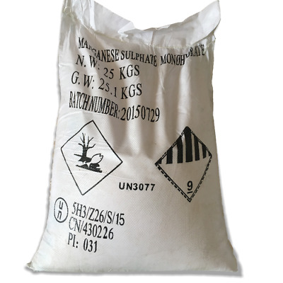 Sulphate Manganese Monohydrate 25 Kg