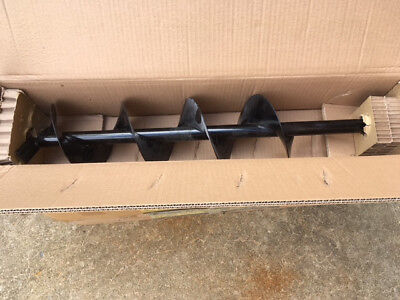 """3/4"""" Shaft  6"""" 3ft Depth  Earth Auger for Fence Post Holes - five available"""