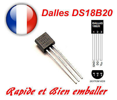 Dallas DS18B20 1-Wire Digital Thermometer TO-92