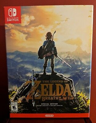 The Legend of Zelda Breath of the Wild Special Edition Nintendo Switch