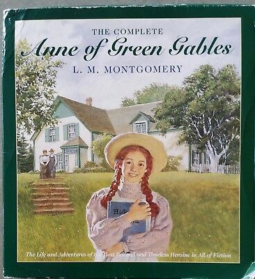 The Complete Anne of Green Gables-Special Collector's Edition by L.M. Montgomery