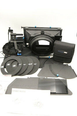 PRE-OWNED Redrock Micro MatteBox Deluxe Bundle w/ Rubber Donuts + 2 Filters +...