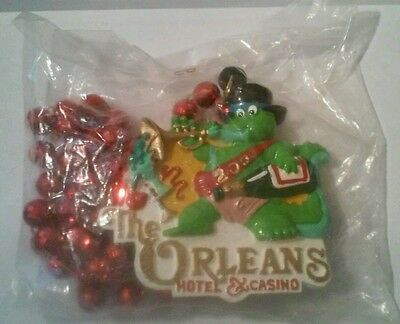 2000 The Orleans Hotel Casino Las Vegas, Nevada Vintage, New Necklace!
