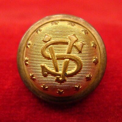 """Nice """"southern Veterans""""? Cuff Button From Georgia Family Estate."""
