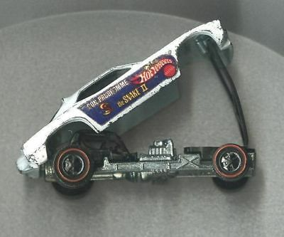 1970 COCA COLA HOT WHEELS the SNAKE II with DON PRUDHOMME on side of Car