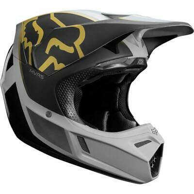 NEW Fox v3 2019 Killa Grey MVRS Helmet from Moto Heaven