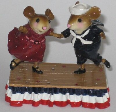 Wee Forest Folk M-369s DANCING FOR THE STARS AND STRIPES
