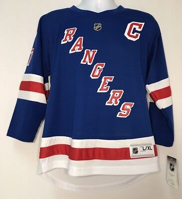 c2ea8b1c0 New York Rangers Youth NHL Home Jersey Ryan McDonagh L XL Tampa Bay  Lightning
