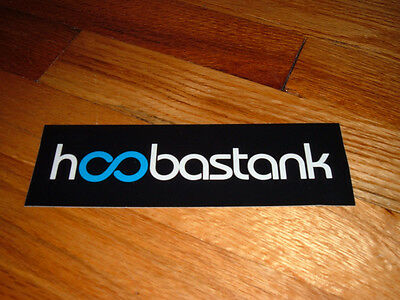 HOOBASTANK 2001 Island Def Jam On Tour With 311 Rare Promo Sticker/Decal unused