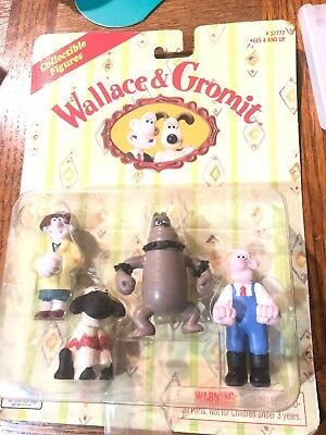 Wallace & Gromit Collectable Figures 4 pack
