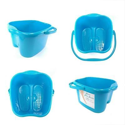 Blue Foot & Hand Care Basin For Bath, Soak, Detox